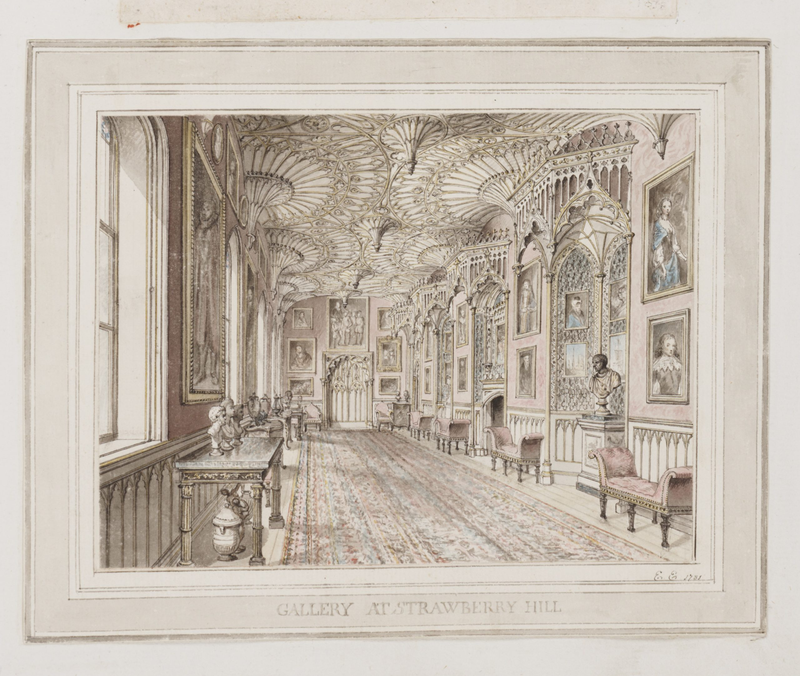 Gallery at Strawberry Hill House